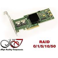 Kalea Informatique–Tarjeta controladora PCI-E 2.0SAS + SATA,8puertos,Raid 0/1/5/10/50,MegaRAID 9240-8i, compatible conMicrosoft Windows 2000, 2003, XP32/64, 2008, Vista32/64, Seven, 8, 8.1y 10(32/64), Linux (Suse, Red Hat), Solaris, VMware
