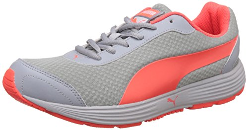 Puma Men's Reef Fashion Dp Quarry and Red Blast Running Shoes - 7 UK/India (40.5 EU)  available at amazon for Rs.2138
