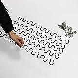 NO LOGO W-NUANJUN-Spring, 5SETS muelles de tracción Extensión La extensión de la Primavera de expansión Ampliar el reemplazo de la tapicería del sofá Muebles Reparación del Asiento del Resorte S Wave
