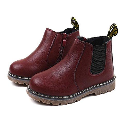 Chaussures Bébé Binggong Enfants Mode Garçons Filles Martin Sneaker Boots Lace Up Enfants Bébé Chaussures Casual