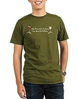 CafePress Wine Black Shirts T-Shirt Organic Men's T-Shirt dark