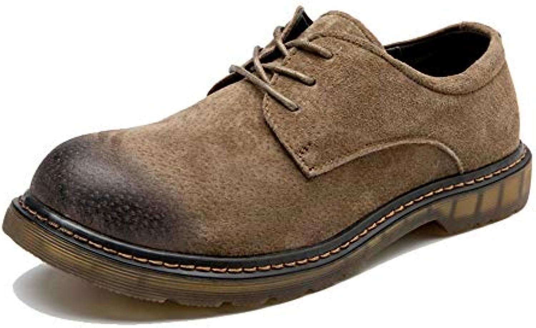 Xiaojuan-scarpe, Stivaletti da Uomo Anti-Skid Scarpe da Lavoro Allacciate in Pelle Sintetica Casual alla Moda,Scarpe... | Export  | Uomini/Donne Scarpa