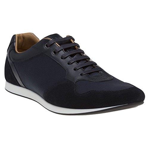 BOSS Hugo Boss Boss Fulltime_Lowp Herren Sneaker Blau (Hugo Boss-blaue Schuh)