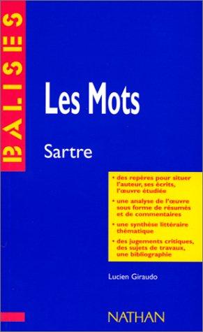 Les mots, Jean-Paul Sartre : Des repères pour situer l'auteur...