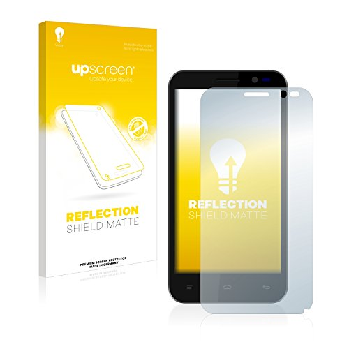 upscreen Entspiegelungs-Schutzfolie kompatibel mit Kazam Tornado 2 (5.0) - Anti-Reflex Bildschirmschutz-Folie Matt