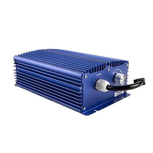 Growvital 1000W elektronisches Vorschaltgerät, nur für 400V Lampe NDL/HPS & MH, 4 Stufen regelbares EVG EVSG, electronic ballast, inkl. 4,5 m Stromkabel, Qualitätsware mit 3 Jahren Garantie -