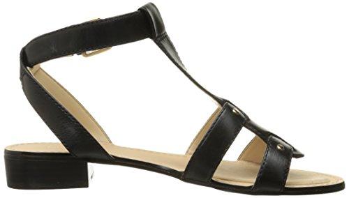 Nove in pelle occidentale Yippee Dress Sandal Black