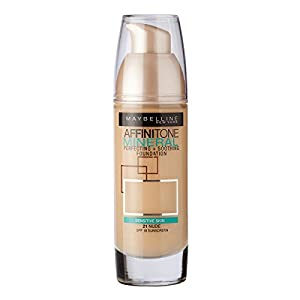 Maybelline Affinitone Mineral Foundation SPF18 30ml - 021 Nude
