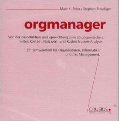 Orgmanager. CD- ROM Für Windows ab 95
