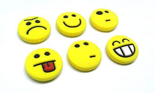 Tennis Feel Sorbifun Vibrationsdämpfer, Emojis, 6er Pack
