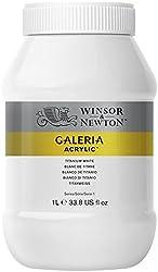 Winsor & Newton 1l Galeria Acrylic Paint - Titanium White