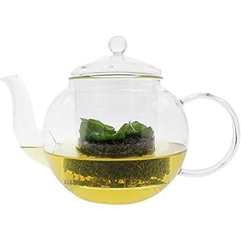Teekanne Teekrug Karaffe Kanne Tee Tea Thermoglas für Heiß- und ...
