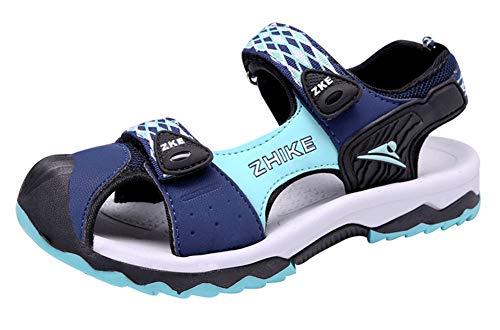 Gaatpot Unisex-Kinder Sandalen Jungen Mädchen Outdoor Trekking-& Wanderschuhe Sandalette Strand Sport Sommer Schuhe Himmel Blau 29 EU = 30 CN