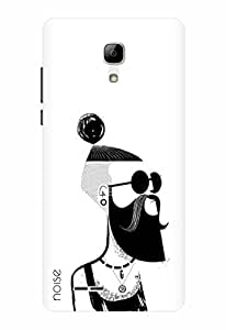 Noise Designer Printed Case / Cover for Micromax Bolt Selfie Q424 / Patterns & Ethnic / Beard Design