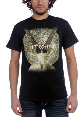Goatwhore di Haunting-Curse-Maglietta da uomo, colore: nero nero Medium