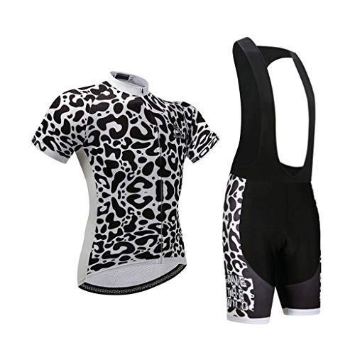 Ldd-qxf Riemen mit Trikot für Team-Version Jersey passt für Fahrräder mit kurzen Ärmeln von Jersey Custom Bikes (Farbe : 2, größe : S) -