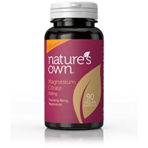 Natures Own 500mg Magnesium Citrate Capsules - Pack of 90 Capsules
