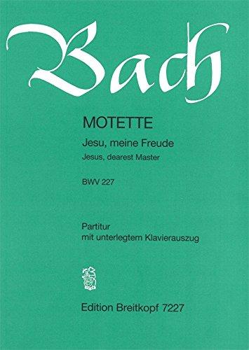 Jesu, meine Freude BWV 227 für gemichten Chor - Motette (EB 7227)