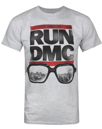 Offiziell RUN-D.M.C Glasses Herren-T-Shirt (XXL) - Run Fun Shirt