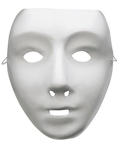 Roboter Maske weiß (Roboter Maske)