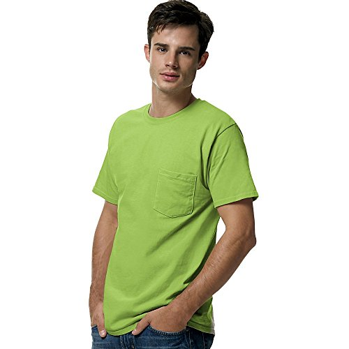 Stag Party, White auf American Apparel Fine Jersey Shirt Gelb - Lime