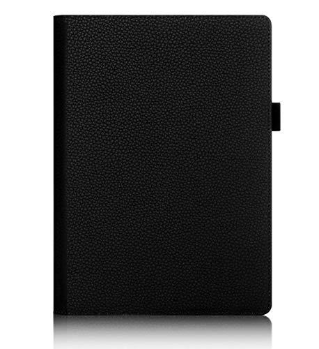 ISIN Tablet Fall Serie Premium PU-Leder Schutzhülle für Lenovo Yoga Tab 3 Pro X90F X90L 10,1 Zoll Tablet Projektor mit Handschlaufe und Kartenschlitz (Schwarz)