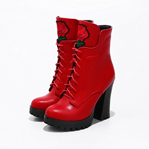 MissSaSa DONNA BOOTS AFFASCINANTE Rosso