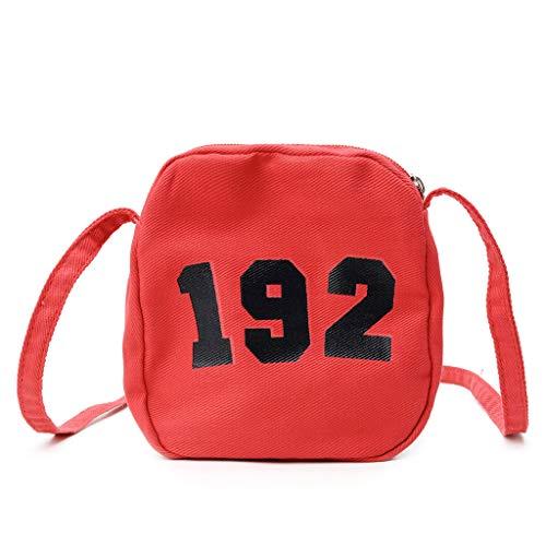 Mitlfuny handbemalte Ledertasche, Schultertasche, Geschenk, Handgefertigte Tasche,Kinder einfache Mini Bag Schulter Messenger Bag Geldbörse für Kinder