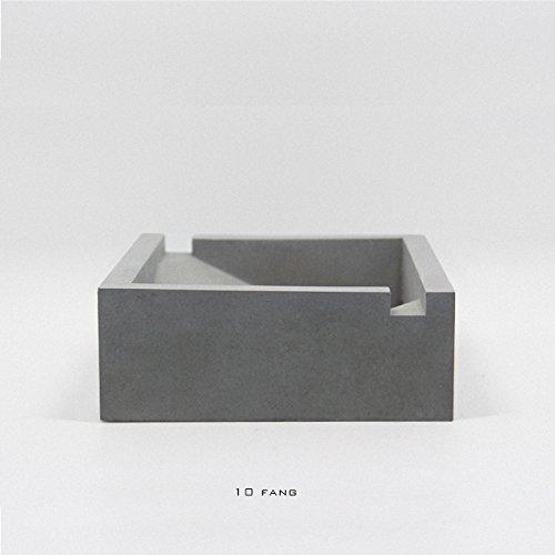 hoom-12cm-cubo-posacenere-in-cemento-arredo-casa-ornamenti-personalita-creativagrigio