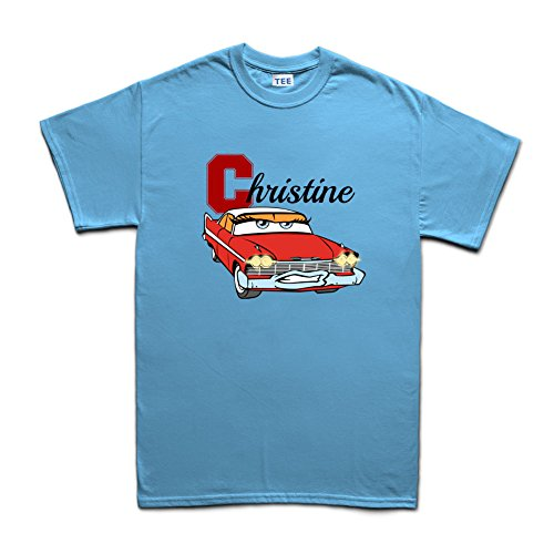Christine McQueen T-Shirt Hellblau