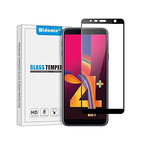 Galaxy J4 Plus/Galaxy J6 Plus vetro temperato, Copertura completa,pellicola in vetro, Garanzia a...