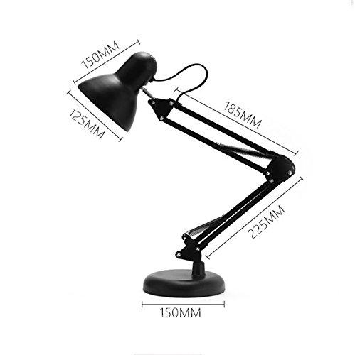 Ywyun Sparende LED-Lampe, zwei mit hohen Substrat Eye einstellbar modernes Wohnzimmer Schreibtischbeleuchtung Schlafzimmer umgefaltet ( Color : Classic version )