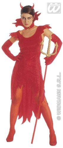 Widmann costume vestito diavola diavolessa carnevale halloween donna 3531_