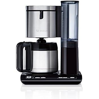 Bosch TKA8653 Thermo Kaffeemaschine Styline / Für 8 12 Tassen / 1100 Watt  Max