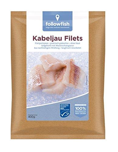 Followfish - Kabeljaufilets Natur TK - 400g