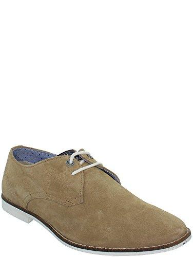 chaussures ville pepe jeans belmont derby beige