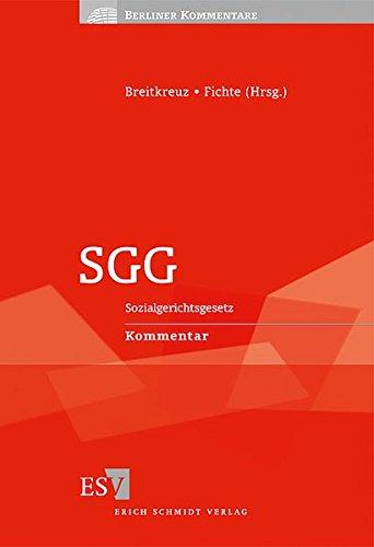 SGG: Sozialgerichtsgesetz Kommentar (Berliner Kommentare)