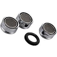 3 piezas Filtro grifo de accesorios de grifo Difusor Filtro grifo de ahorro de agua con junta Para cocina y baño