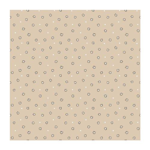 Beige-moderne-tapete (York Wallcoverings Bistro 750Leinen Ziegelsteinwand, Beige .236, Wallpaper)