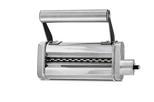 WMF Profi Plus Tagliatelle-Schneider, 6,6 mm, zur Herstellung von Tagliatelle aus Lasagneplatten, für Profi Plus oder WMF KÜCHENminis Küchenmaschine One for All Wmf Pasta