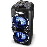 auna Bazzter Party Sistema de Audio • Potencia:100 W RMS • Bluetooth • 2 Subwoofers 8