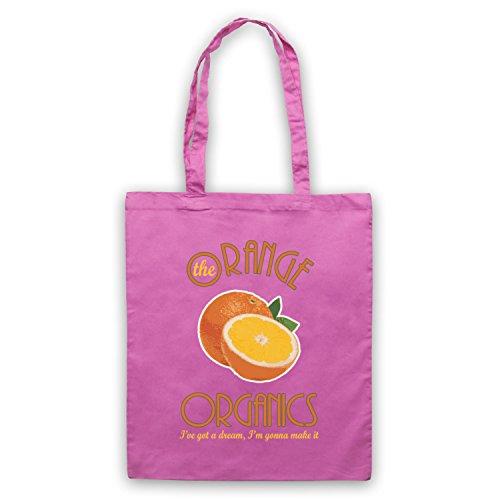 Inspiriert durch Pugwall The Orange Organics Inoffiziell Umhangetaschen Rosa