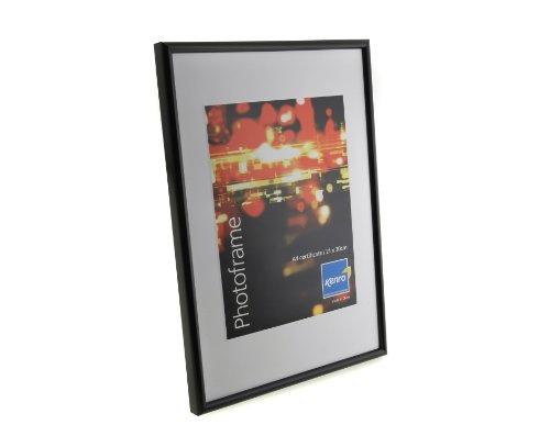 / Bilderrahmen mit schwarzem Rand für Zertifikate, 21 x 30 cm, 24 Stück, DIN A4 ()