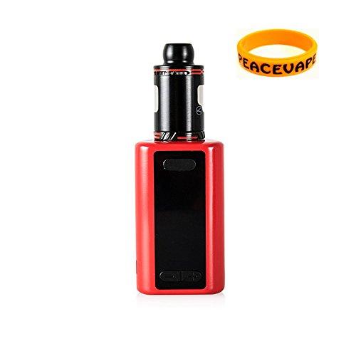 Authentic Kanger iKEN TC Starter Kit 230W / 5100mAh Battery - 2017 Kangertech Innovative E Cigarette (Black Red) Included Bonus Vape Band
