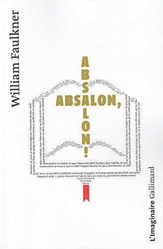Absalon, Absalon! par William Faulkner