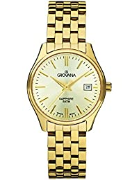 GROVANA Damen-Armbanduhr 5568.1111 Analog Gold 5568.1111