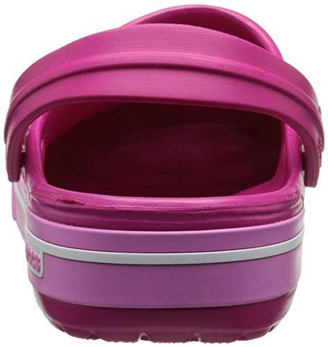 Crocs Crocband II. 5Clog Zoccoli Unisex, per adulti Rosa (Candy Pink/Party Pink)