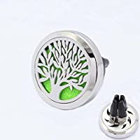 lzndeal Car Air Freshener Essential Oil Diffuser 4 Feet Clip Tree of Life Aromatherapy with 10 Felt Pads preisvergleich bei billige-tabletten.eu