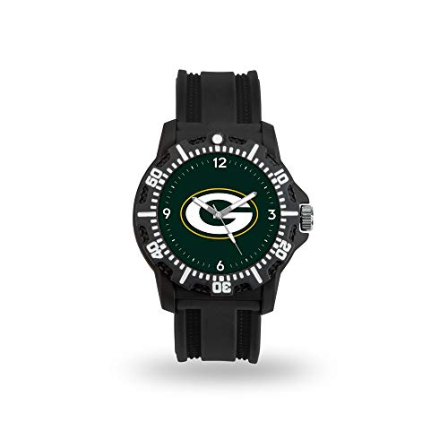 SPARO Watches NFL Armbanduhr Model Three Green Bay Packers (Band Bay Packers Green)