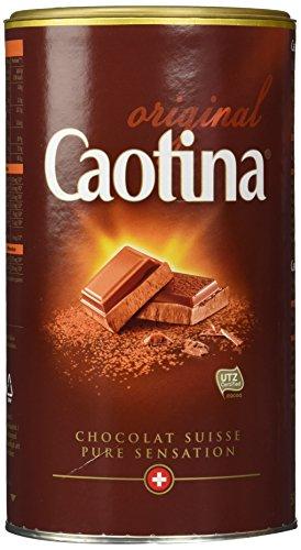 Caotina originale, Poudre de Cacao avec du Chocolat Suisse, Chocolat Chaud, Lot de 3, 3 x 500g